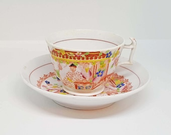 Victorian Tea Cup & Saucer perfect for your Afternoon Tea, a Garden Party, Vintage Tea Party or any time you simply fancy a cup of tea!