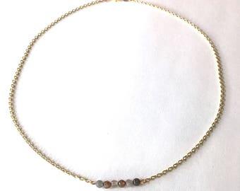 Dainty Gemstone Layering Necklace