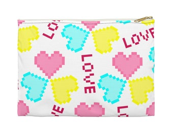 Pixel Love Accessory Pouch