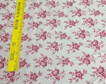 Calico Gardens-Red Flowers Cotton Fabric (32133) from Windham Fabrics
