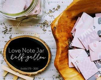 rustic wedding guest book alternative, mason jar wedding, guestbook alternative, alternative wedding, date night jar, wish jar, love notes