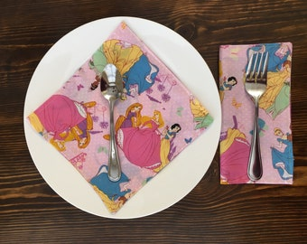 Princess Luncheon Napkins (4 count)