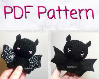 PDF  amigurumi bat pattern -English only