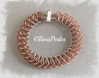 17 Chain Maille bracelet - Chainmaille bracelet