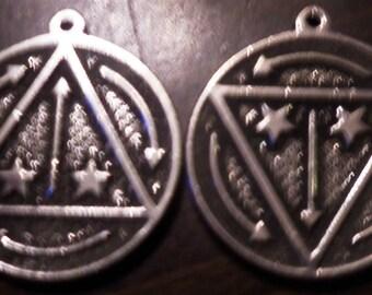 Vril Power Energy Pendant Occult Magick rare