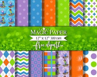 Home Digital Paper Clipart Clip Art, Digital Papers, Cliparts