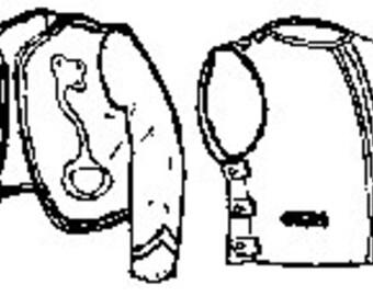 PI713 - Civil War Era Zouave Jacket & Vest Sewing Pattern by Period Impressions