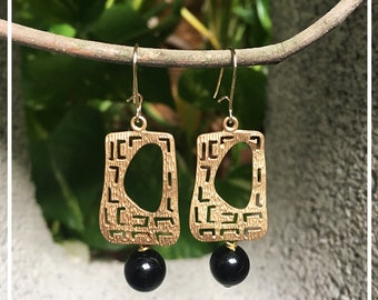 Earrings with Stone
