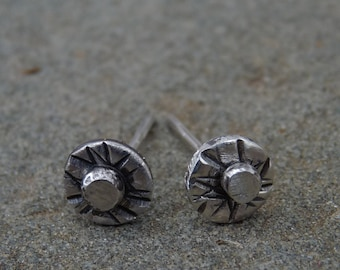 Small Studs Sterling Post Earrings