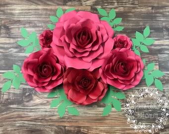 Rose set of 6