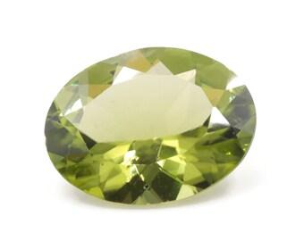 Peridot | Natural Peridot | Peridot Gemstone | Peridot Loose Gemstone | August Birthstone | Green Peridot faceted Oval  11x9mm 2.46ct