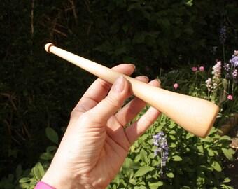 Dealgan - Scottish drop spindle (#7)- whorless spindle stick spindle