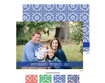 Holiday Photo Cards -- Tis the Season -- Mirabelle Creations