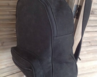 Leather backpack-leather bagpack