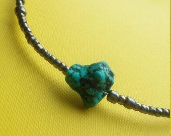 Turquoise Choker and Bracelet
