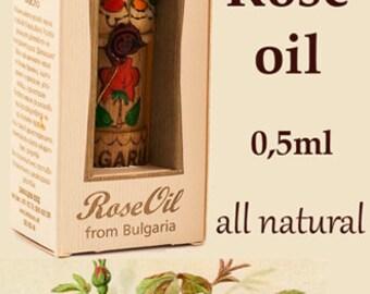 100% True & Pure Bulgarian Rose oil otto, Certified