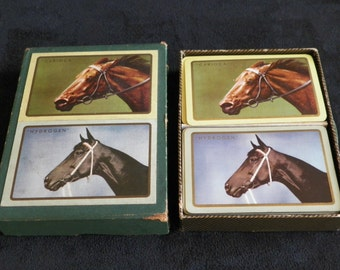 Game of cards Horses races