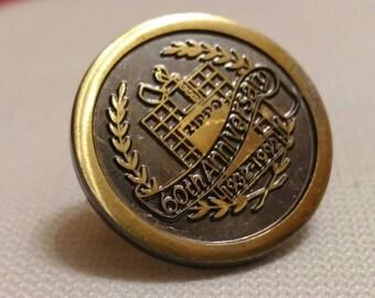Zippo , pin Zippo 60th anniversary . Original Made in Usa .