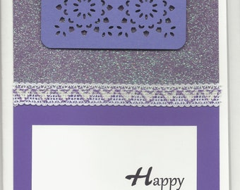 Handmade Greeting Card - Mother's Day - Embellished