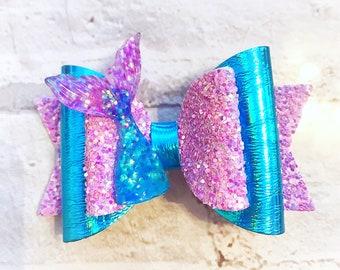 Mermaid bow, mermaid tail, fishtail bow, bows