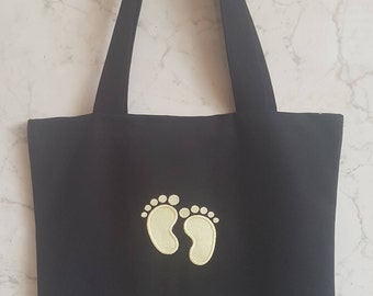 Baby On Board Tote Bag - Yellow