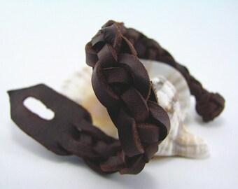 Des eaux encore celte espagnol des hommes - bracelet - manchette en cuir