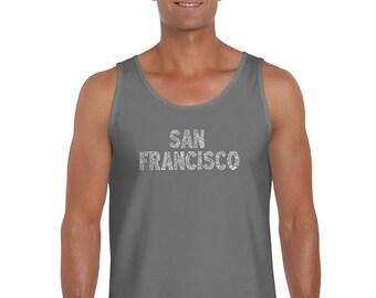 Men's Tank Top - SAN FRANCISCO NEIGHBORHOODS