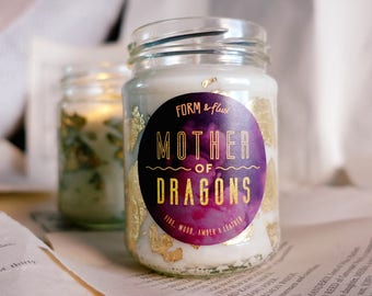 Mother of Dragons - Jam Jar Candle