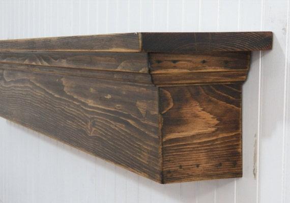 Rustic Mantel Shelf Floating Mantel Floating Shelf Rustic