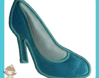 Glass Slipper Applique design