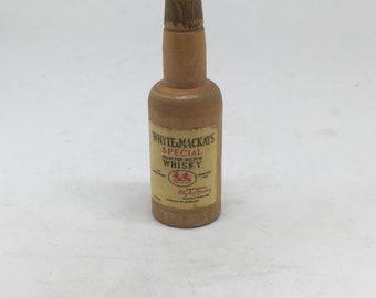 Whyte Mackays wooden dice bottle