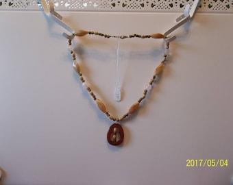 "19"" Earthtone Necklace"