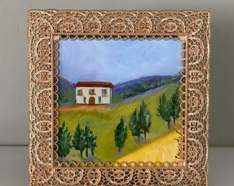 Mini Painting- Dreaming of Tuscany