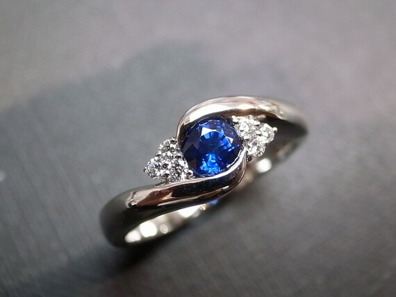 Blue Sapphire Rings Diamond Rings Engagement Rings Wedding