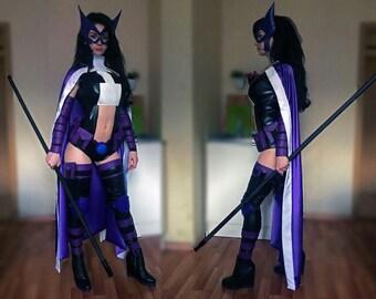 Huntress cosplay охотница DC dccomics