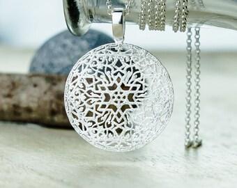 Halskette Stern  Silber 925