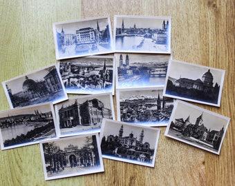 Vintage Photo Booklet from Zurich, Switzerland Travel Souvenir Ephemera