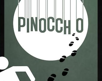 Disney's Pinocchio Minimalist Poster