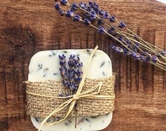 Lavender soap & White wild flower soap