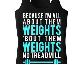 All About Them WEIGHTS Workout Tank, Workout Clothing, Workout Tanks, Gym Tank, Motivational Workout, Workout Shirt, Fitness