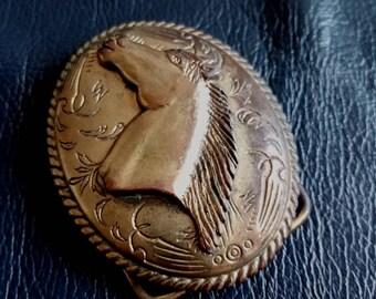 SPANISH BELT BUCKLE, Vintage Spanish Belt Buckle, Horse Head Belt Buckle, Made in Spain Belt Buckle, Vintage Belt Buckle, Belt Buckle,Buckle