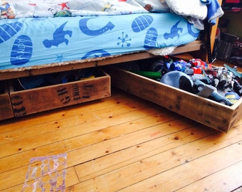 Made to Order Under Bed Trundle Storage Drawers