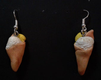 Ice Cream Cone earings