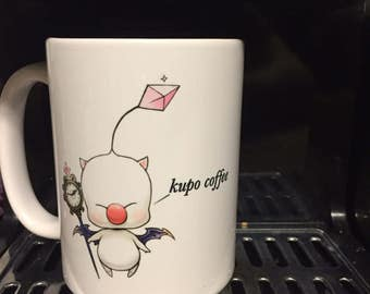 15 oz. Moogle Final Fantasy kupo coffee Mug