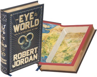 Wheel of time map etsy hollow book safe eye of the world by robert jordan leather bound gumiabroncs Choice Image