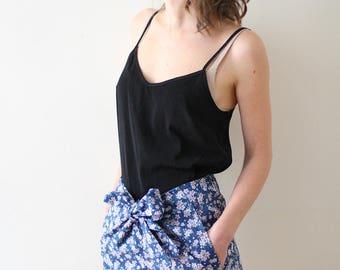 Jumpy, beginner sewing pattern, pants/shorts