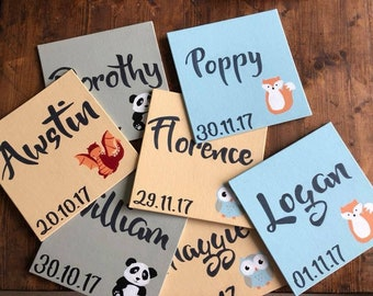 Baby Name and Birth Date Boards