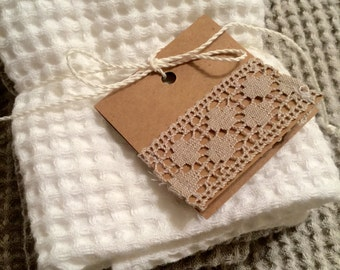 Linen washcloth, hand towel, Stonewashed linen,  Ideal for your bath, spa