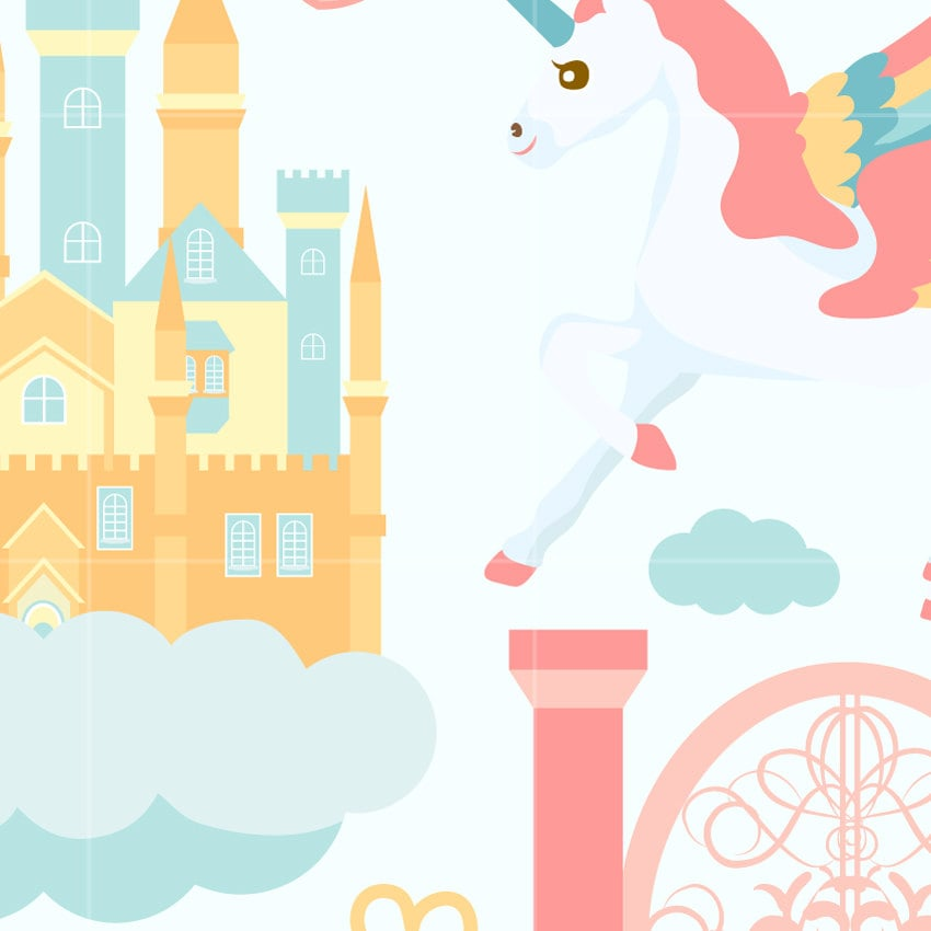 heaven digital vector clip art unicorn clipart design illustration rh etsystudio com