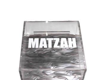 Matzah Acrylic Lucite Box